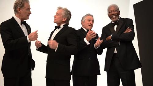AARP / De Niro, Freeman, Douglas, Kline