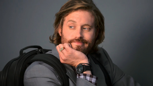 GQ/Montblanc / TJ Miller – Backpack