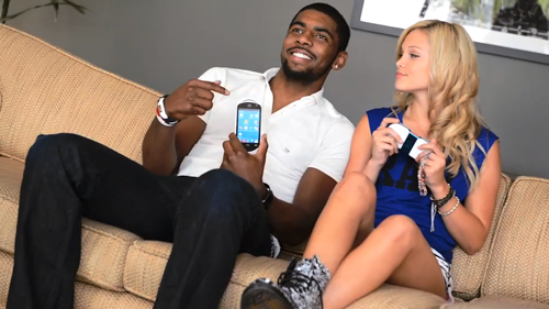 PlayMG/ Kyrie Irving & Olivia Holt