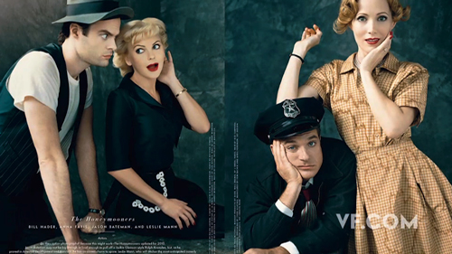 VANITY FAIR / Honeymooners